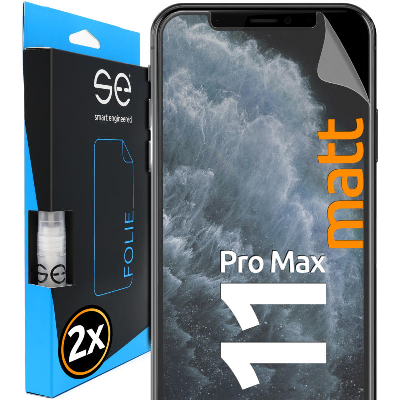 Apple iPhone 11 Pro Max Schutzfolie Front matt