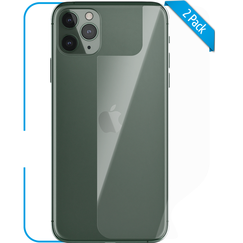 Apple iPhone 11 Pro Schutzfolie Back klar Hero 1