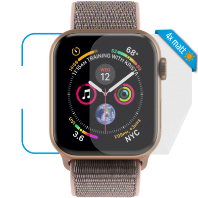 Apple Watch 44mm Schutzfolie matt