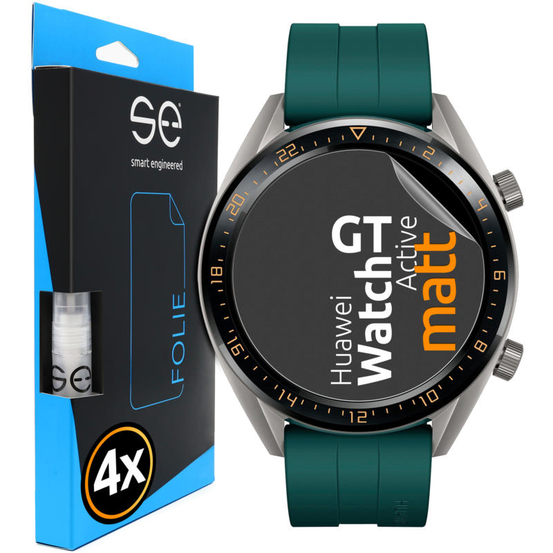 Huawei Watch GT Active Schutzfolie Front matt