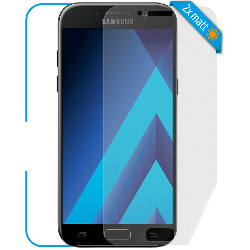 Samsung Galaxy A3 Displayschutzfolie Front matt