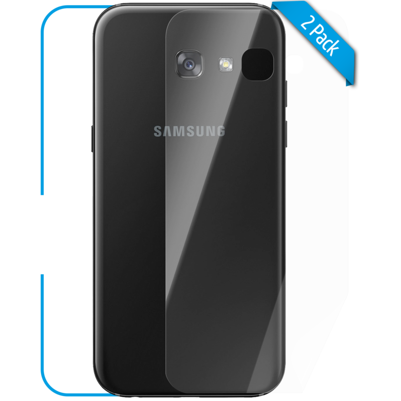 Samsung Galaxy A3 Schutzfolie Back klar