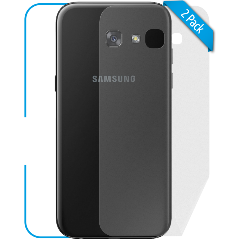 Samsung Galaxy A3 Schutzfolie Back matt
