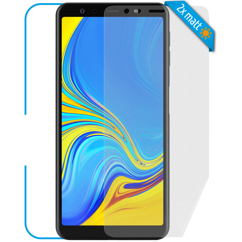Samsung Galaxy A7 Front Displayschutzfolie matt