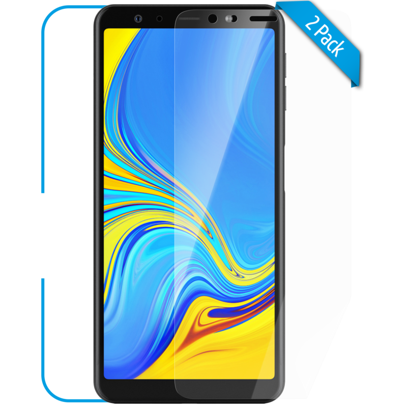 Samsung Galaxy A7 Schutzfolie Front klar Hero 1