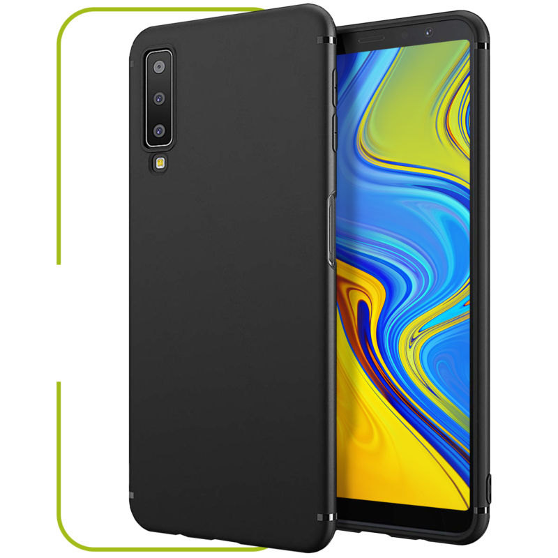Samsung Galaxy A7 Schutzhülle matt-schwarz
