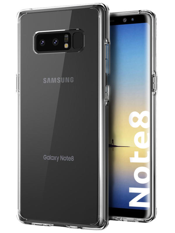 Samsung Galaxy Note 8 Schutzhülle transparent