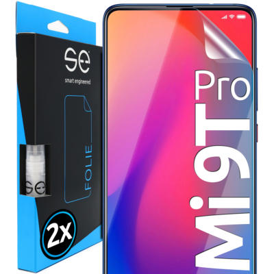 smart engineered 2x3D Screen Protector for Xiaomi Mi 9T Pro Transparent: Amazon.fr: High